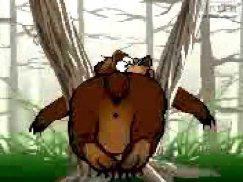 Заяц и медведь мультфильм прикол