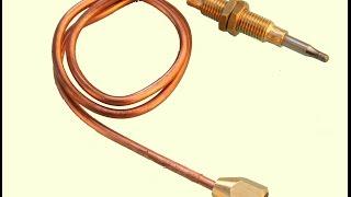 Как проверить термопару с помощью мультиметра(тухнет фитиль)