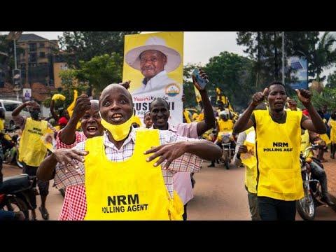 Уганда: Кагута Мусевени удержал президентское кресло