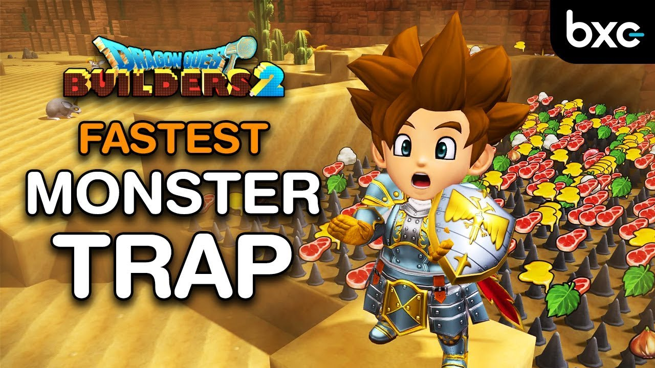 Dragon Quest Builders 2 Monster Recruitment Guide: FASTEST Meat Farming Method