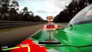 24 Hours of Le Mans 2011 - Johnny Herbert - Mazda 787B Onboard Lap
