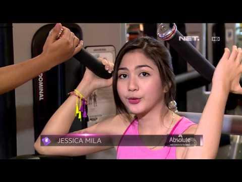 Entertainment News - Intip Keseruan Jessica Mila Berolahraga