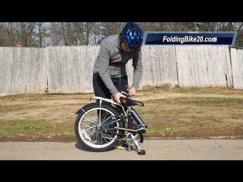 Schwinn Hinge Folding Bike How To Fold And Unfold Youtube
