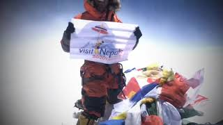 Exclusive video of Video Mt Everest (8848m)