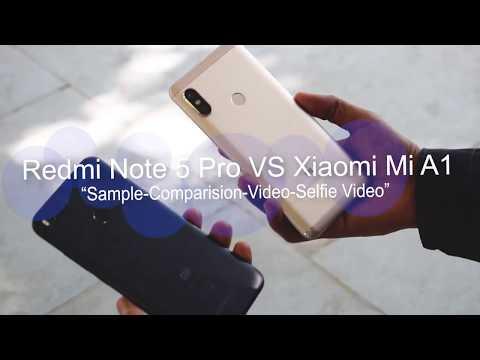 Xiaomi Mi A1 VS Redmi Note 5 Pro Camera Comparision 📷 Samples, Videos, Front Camera Comparision!