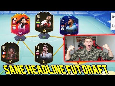 Fifa 19: Geiles Fut Draft mit dem neuen seltenen 88 Headline LEROY SANE! - Ultimate Team