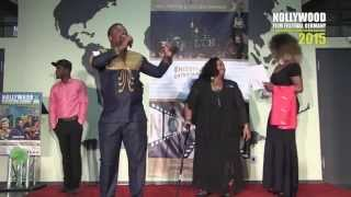 NOLLYWOOD EUROPE GOLDEN AWARDS - 2015 WITH SENATOR DONZELLA JAMES - USA