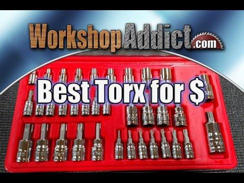 Tekton 1354 - 35 Piece Star or Torx Bit Socket and E Socket Set Review