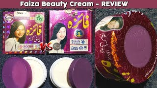 Faiza Beauty Cream Review, Benefits, Uses, Price, Side Effects | Original or Fake Cosmetics Products