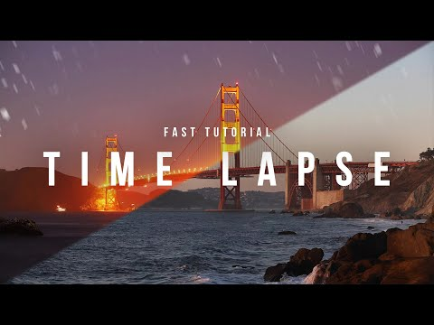 Easy Time Lapse Tutorial - How To Make A Time-Lapse Video With DSLR or Mirrorless thumbnail