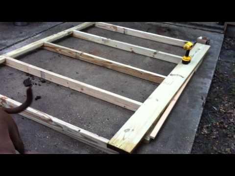 Chicken Run 001 - Initial Constuction