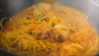 Уйгурское блюдо – плов