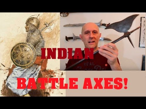 Indo-Persian battleaxes and late era heavy cavalry