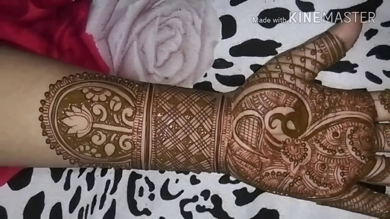 Conosciuto Mehndi design book - YouTube GZ45