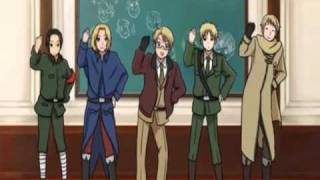 Repeat youtube video Hetalia Numa Numa