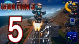 IRON MAN 3: The Official Game Android Walkthrough - Part 5 - Defeat M.O.D.O.K