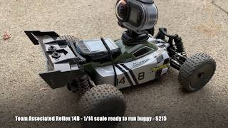 Team Associated Reflex 14B buggy test drive and top speed