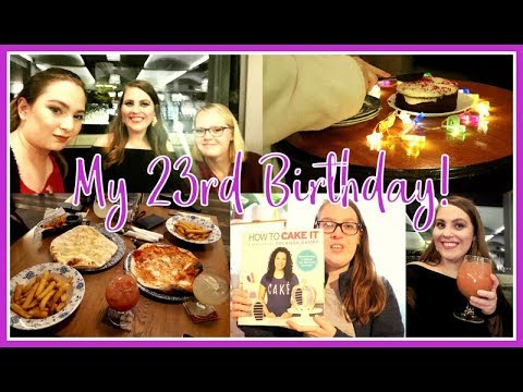 Turning 23, Hair Fail & Lots of Food! | Sarah Douglas