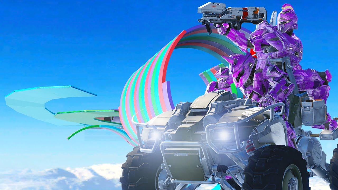 Carreras Locas con SUPER FIESTA   Halo 5