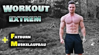 20 Min. Extremes Ganzkörper HIIT Workout für Zuhause | Muskelaufbau + Fettverbrennung garantiert!