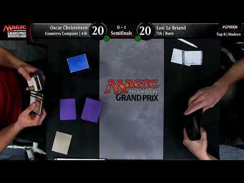 Magic the Gathering Grand Prix Birmingham Semifinals