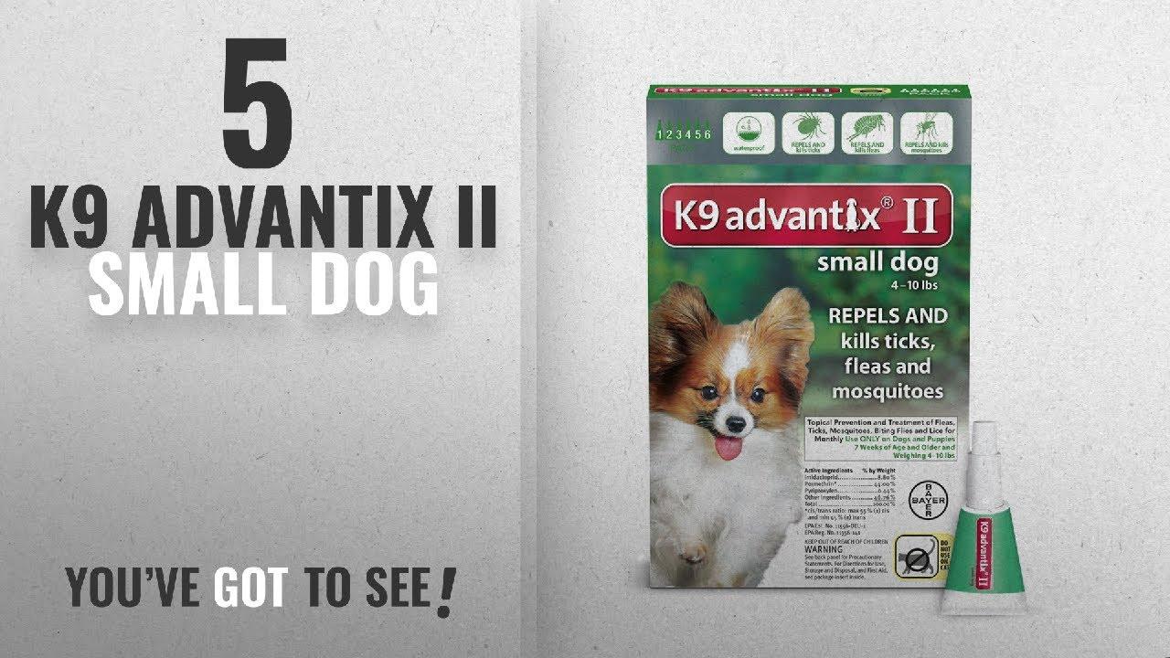 Top 5 K9 Advantix Ii Small Dog 2018 Best Sellers Bayer K9