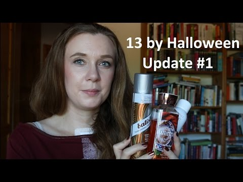 Finish 13 by Halloween - Update #1