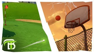 *EPIC* HOLE IN ONE! | How To Use Toy Emotes in Fortnite Season 5 (Golf, Basketball, Beach Ball)