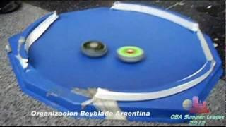 """Organizacion Beyblade Argentina """"Valencapo Birth and Clash"""" - 25 de Febrero del 2012 - por la Summer League 2012 Torneo de MF - Partido Final entre ..."""