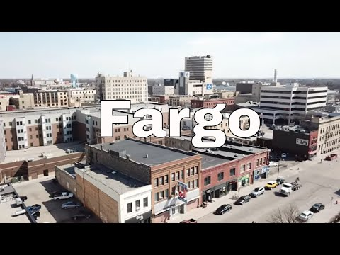 Drone Fargo, North Dakota