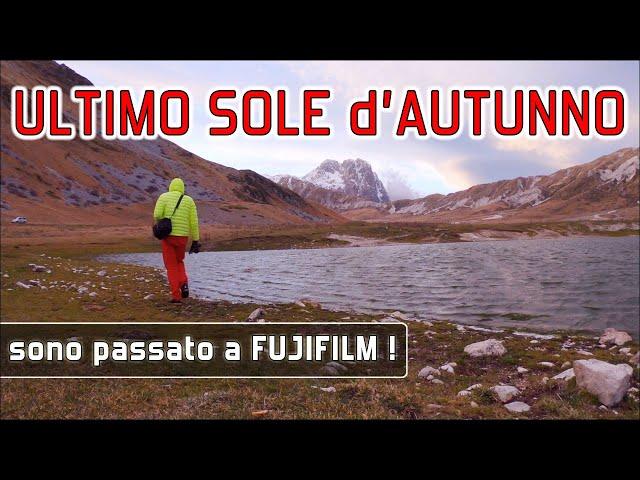 Gran Sasso: Ultimo sole d'Autunno - Nuova Fujifilm XT30  Fujinon XF 55-200mm e XF 14mm f/2.8 R