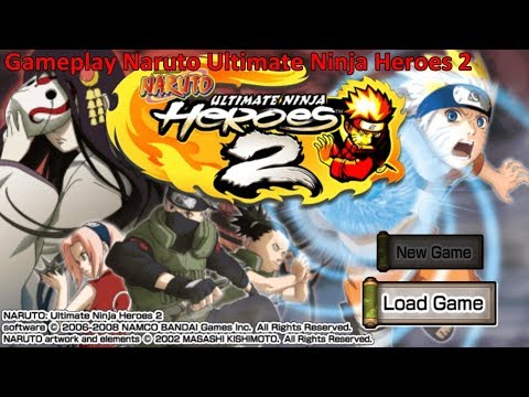 Free Download Game Naruto Ultimate Ninja 2 for Computer PC or Laptop