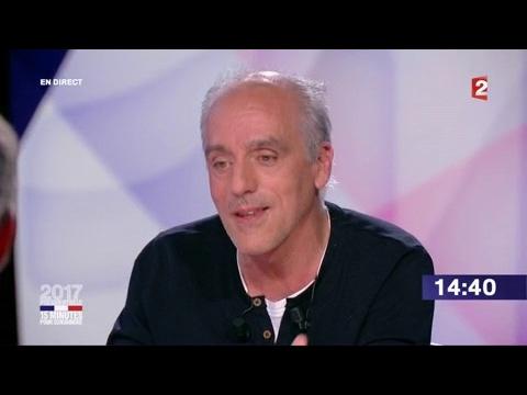 """Philippe Poutou dans """"15 minutes pour convaincre"""" sur France 2"""