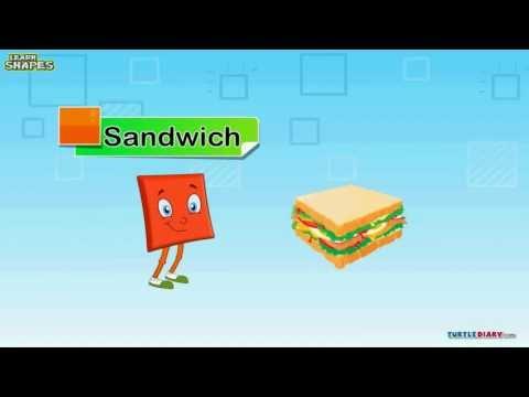 Learn Shape Square video | Math video for kids - YouTube  Learn Shape Squ...