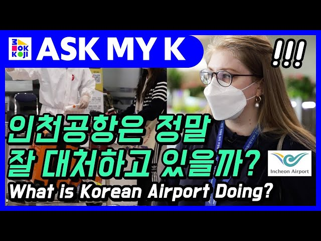 Ask My K : Den and Mandu - How is Korean Airport Handling the Situation right now?