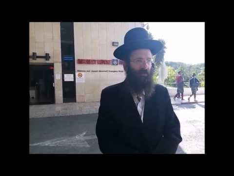 Father Of Yeshiva Bochur Stabbed In Jerusalem Gives Update