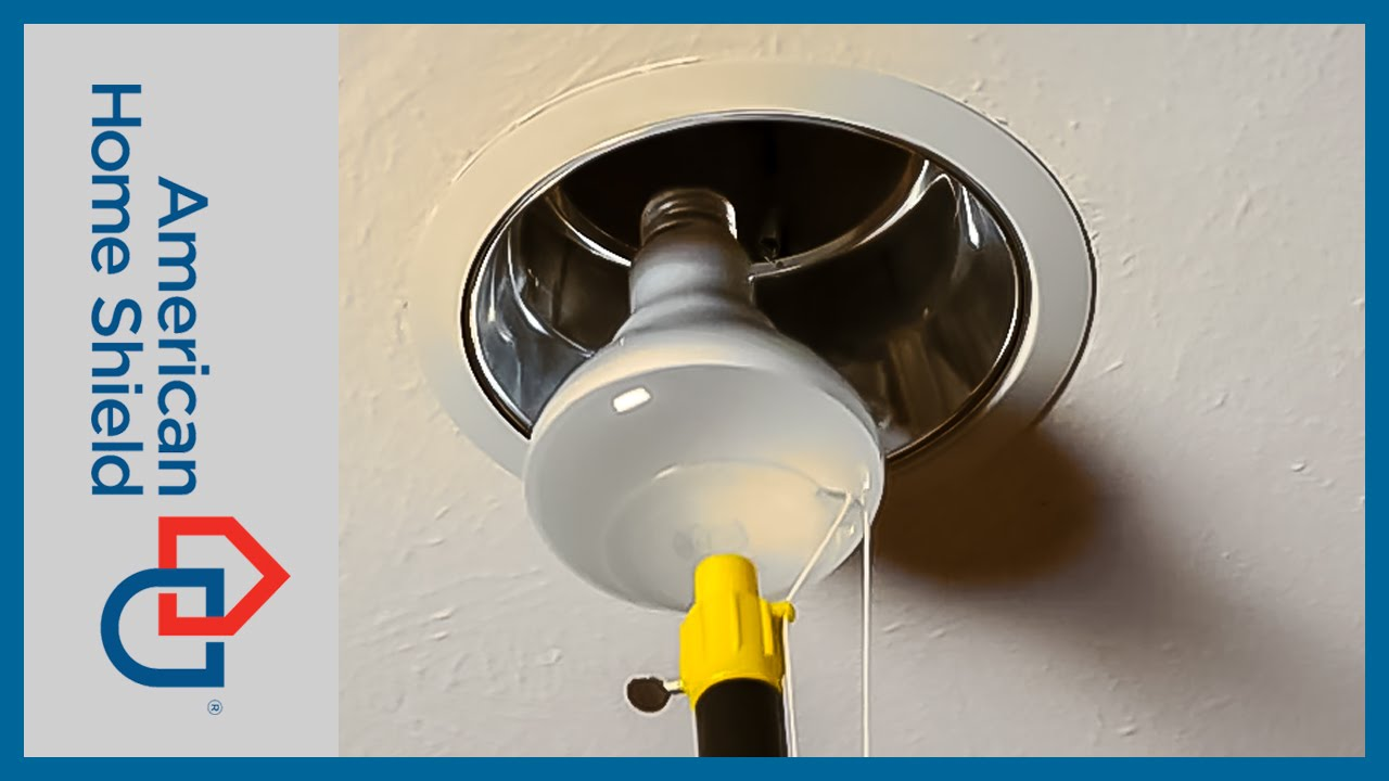 Electrical Maintenance - How To Change A Light Bulb - American Home Shield