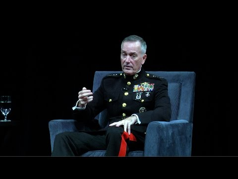 2016 The George P. Shultz Lecture Series - General Joseph F. Dunford, Jr. USMC - Preview