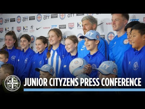 Bratts, Fitzy and Jamo answer the hard questions – City Junior Press Conference