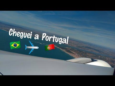 Cheguei a Portugal | SÃO PAULO - LISBOA
