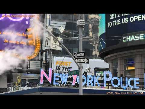 NYPD - New York City Police Department, NY, USA Collage Video - youtube.com/tanvideo11