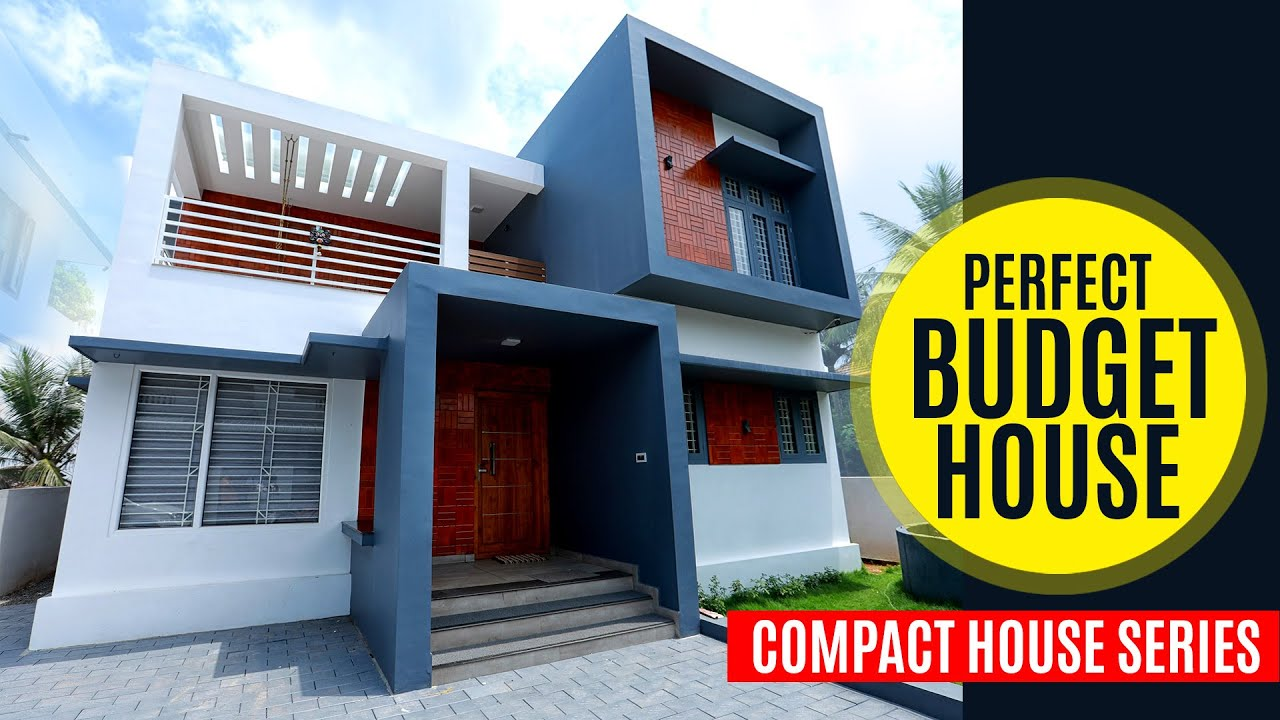 Simple & Stylish Budget House | Kerala Modern Home Design | Compact Minimal Home | Scale N pencil
