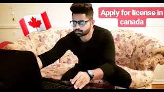 How to get licence in Canada a punjabi student guide. Everything about Class G1,G2,G licence.