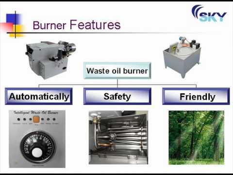 waste oil burner.wmv