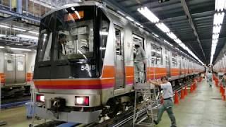 [警笛連呼]京都市営地下鉄 醍醐車庫見学会 50系 2018/10/14