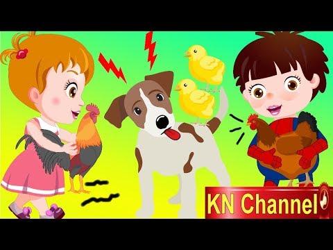 Hoạt hình KN Channel BÉ NA HÒA GIẢI HIỂU LẦM CỦA CHÓ VỊT VÀ GÀ | Hoạt hình Việt Nam | Foci