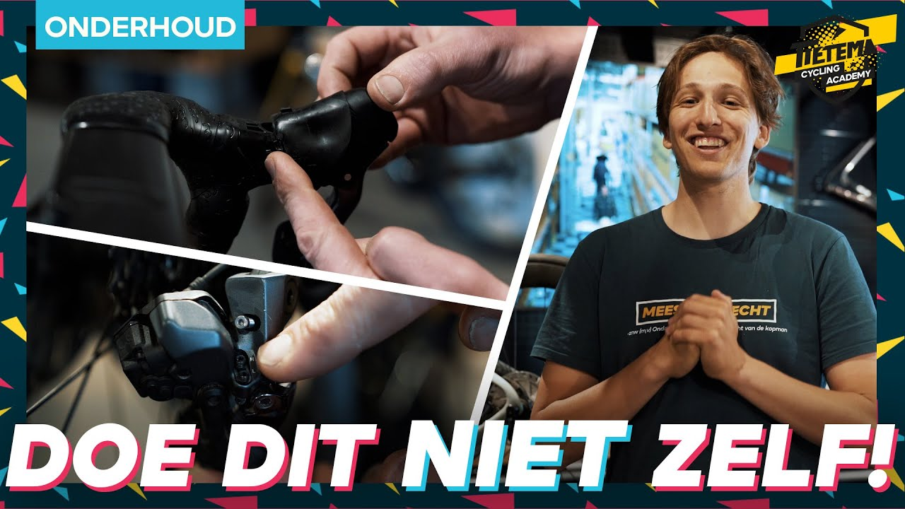 Download 4 KLUSJES DIE JE BETER KUNT OVERLATEN AAN DE FIETSENMAKER | Tietema Cycling Academy