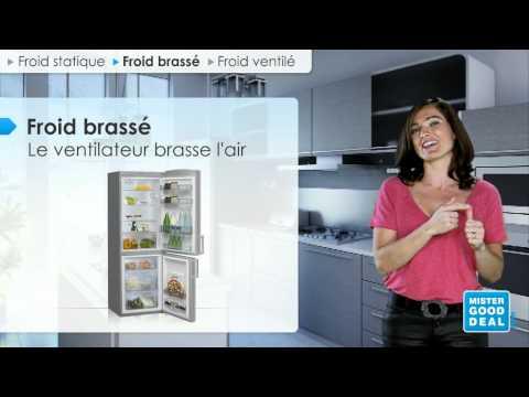 bien choisir mon réfrigérateur - froid brassé ou froid ventilé