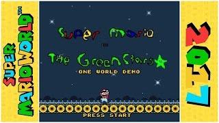 Super Mario and the Green Stars (Demo) | Super Mario World Hack