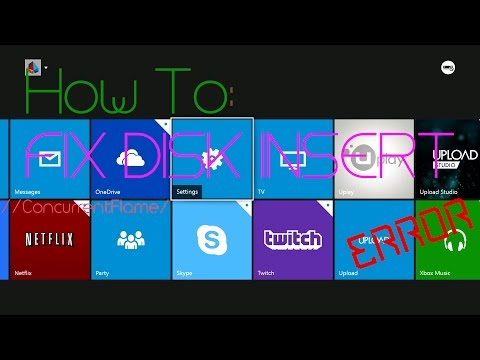 How to fix Xbox One INSERT DISK error